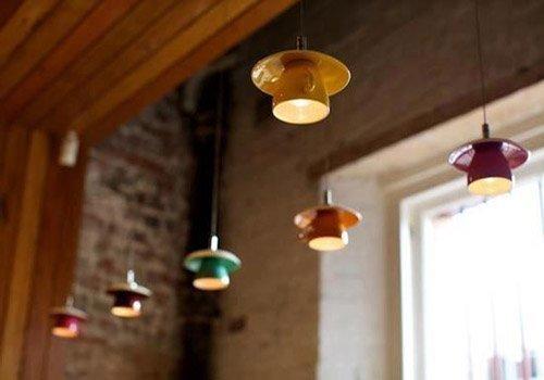 Lámparas DIY con tazas