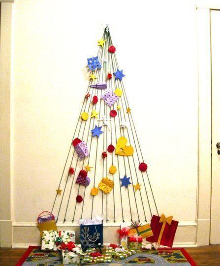 árbol de navidad diy