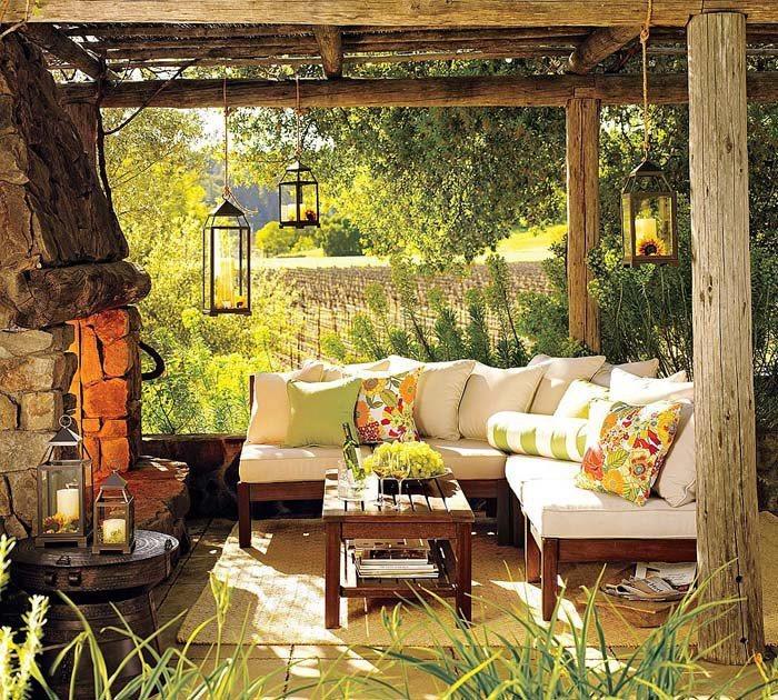 Ideas para el dise o de exteriores - Decoracion exteriores patios ...
