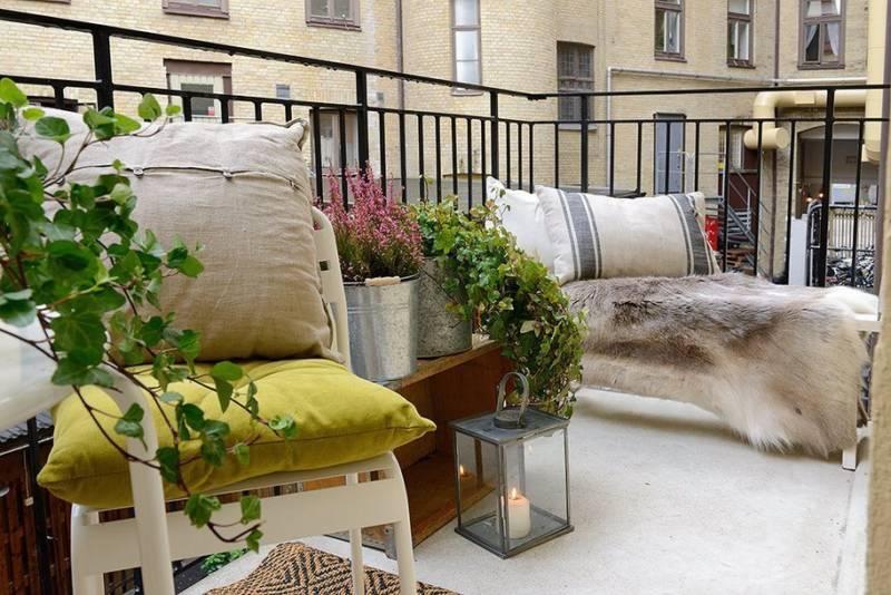 ideas para la decoraci n de balcones. Black Bedroom Furniture Sets. Home Design Ideas