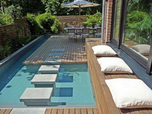 Decoración de piscinas