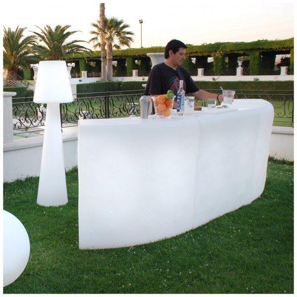 mobiliario de luz para terrazas chill out