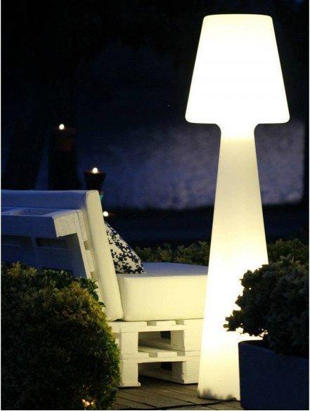 lampara retroiluminada para terrazas