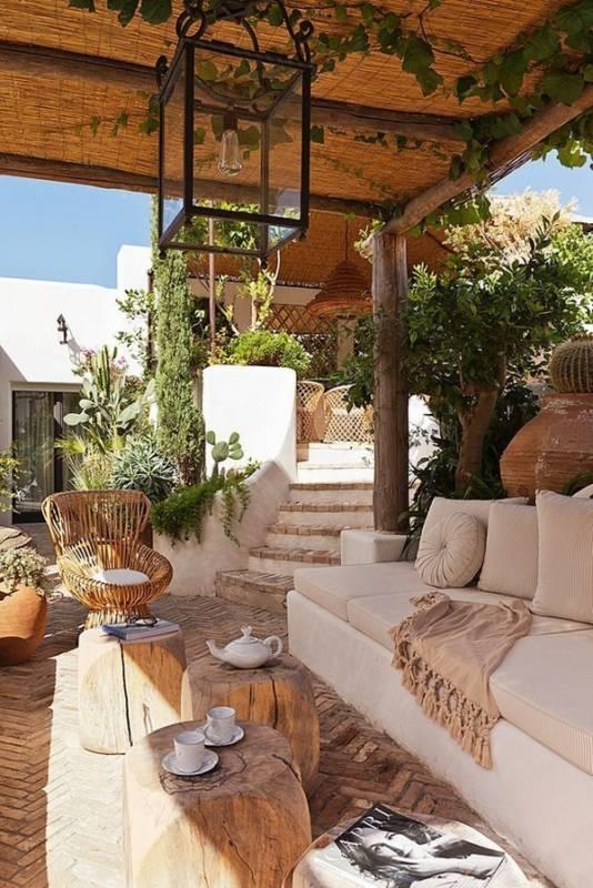 decoracion de terrazas de verano