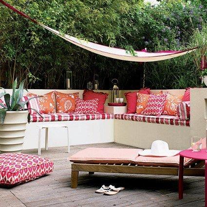 decoracion terrazas de verano
