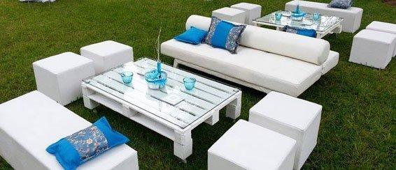 Decoraci n chill out con muebles de palets blog fiaka - Muebles chill out baratos ...