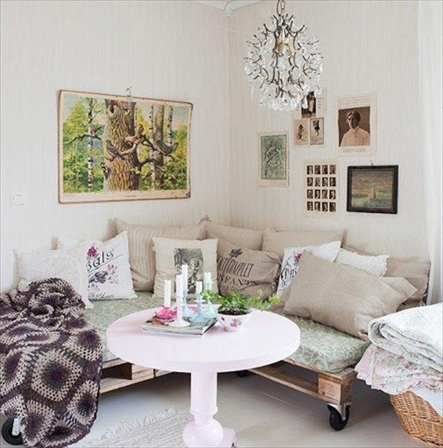 Decoraci n chill out con muebles de palets for Pallet furniture blogspot com