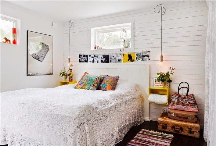 10 ideas para un dormitorio de ensue o blog fiaka - Ideas para hacer un cabecero original ...