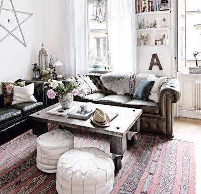 decoracion sofa chester