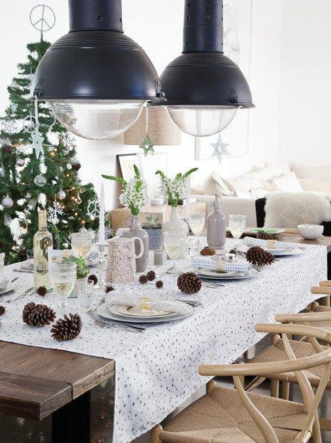 Como Decorar La Base De Abeto Natural De Navidad