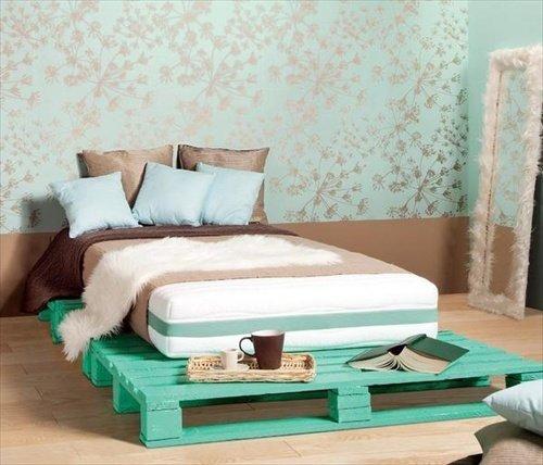10 originales muebles de palets for Pallet furniture blogspot com