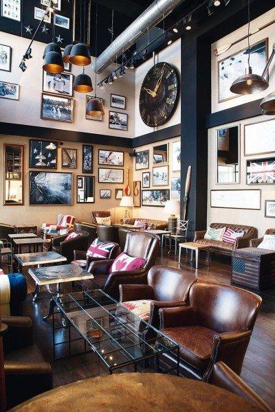 decoracion cafe vintage