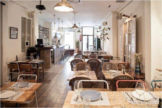 restaurante vintage