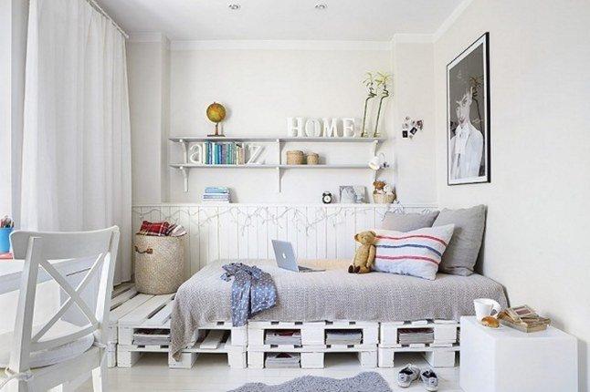 10 originales muebles de palets. Black Bedroom Furniture Sets. Home Design Ideas
