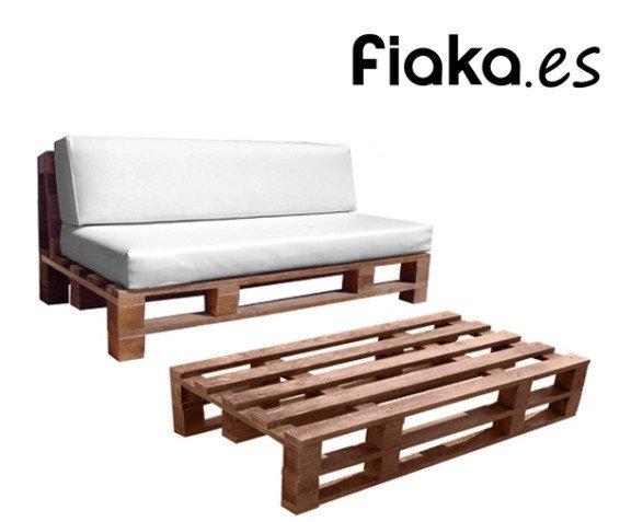 Sofá y Mesa Pale. Fiaka.es