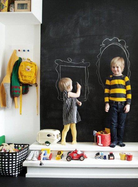 pizarra-en-dormitorio-para-pintar-y-jugar-913229
