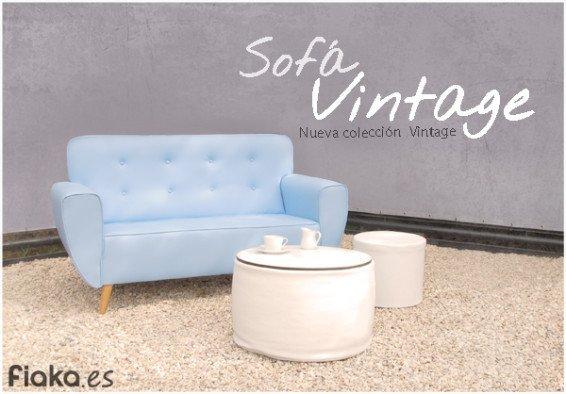 Sofá Vintage Fiaka.es