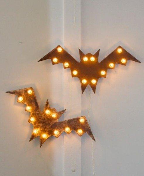 Iluminación Murciélagos - Vía Pinterest