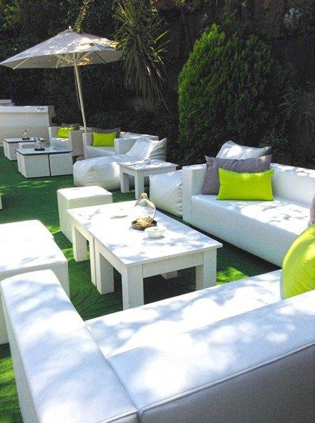 Terraza Jardín Hotel Miguel Ángel - Mobiliario Fiaka.es