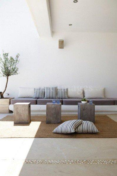 Ideas para decorar con cojintes - Vía Pinterest