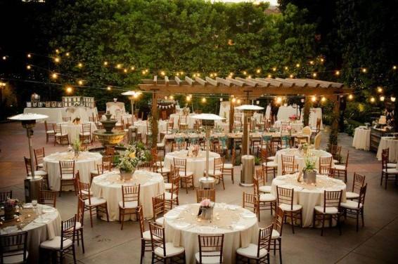 Fincas al aire libre para una boda de cuento.