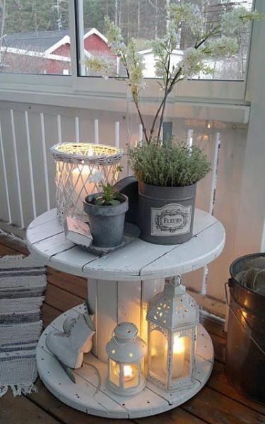 Mesa reciclada - Vía Pinterest