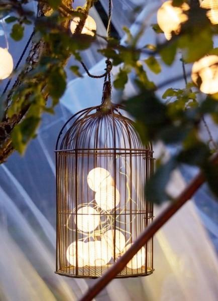 Iluminación low cost - Vía Pinterest