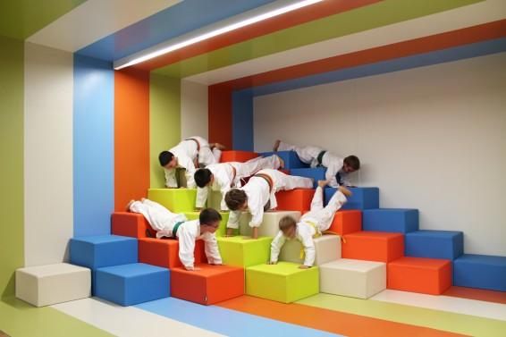 Gimnasio infantil creado por Fiaka.