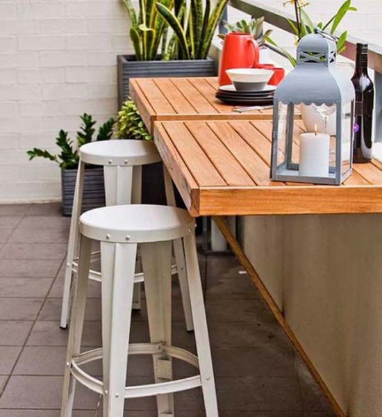 Ikea Patio Furniture Clearance: Brown-and-white-square-modern-wooden-patio-furniture-for