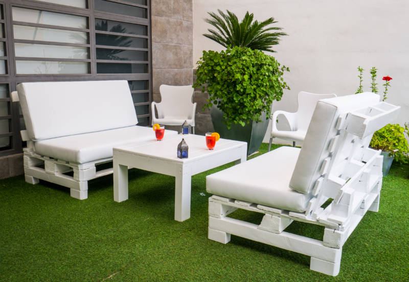 mobiliario de verano terraza y jard n