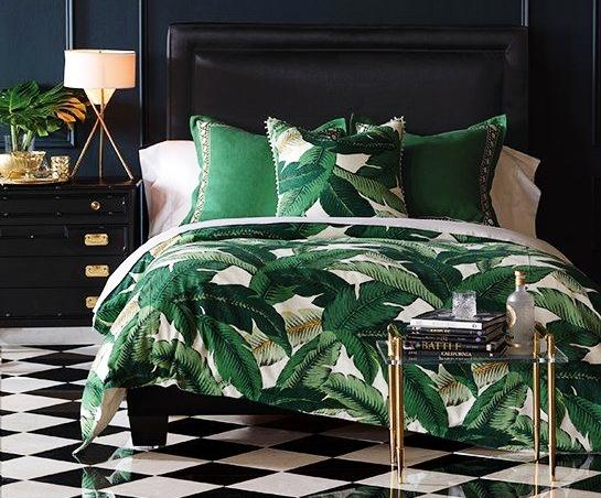 hojas cama