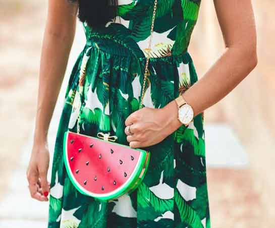 Look tropical en moda