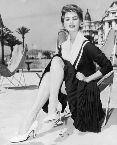 Sophia Loren en una BKF