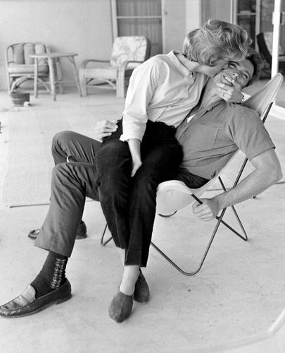 Clint Eastwood y su mujer Meggy