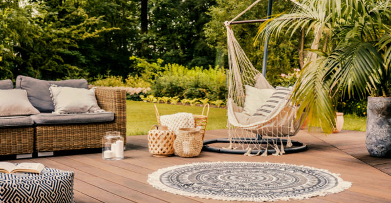 741627c8 Decoración terrazas y jardines 2019: 10 tendencias para incluir en tu área  lounge