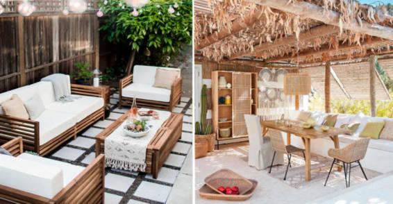 Muebles de Madera y Fibras Naturales