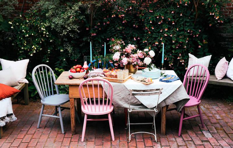 Sillas y taburetes para terrazas y jardines tendencias for Sillas para terraza y jardin