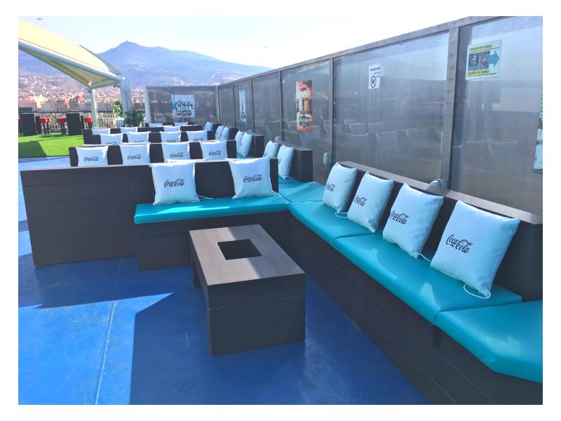 Zona Lounge de Balearia