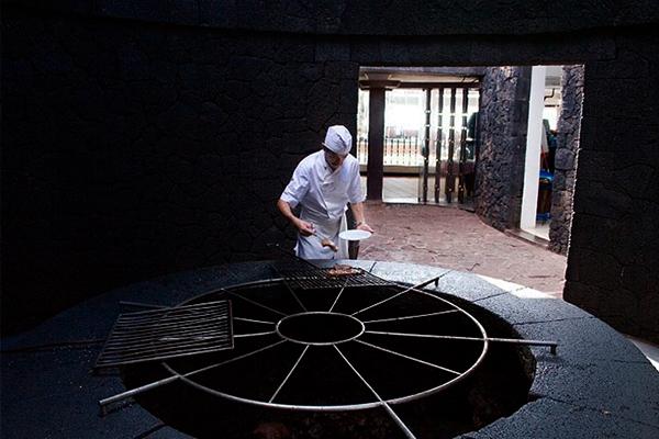 Restaurantes más originales - El Diablo, Lanzarote