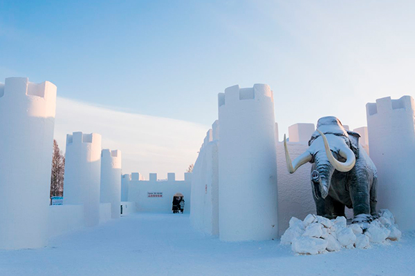 Restaurantes más originales - Snow Castle Finlandia
