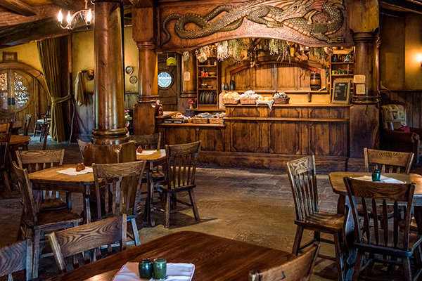 Restaurantes más originales del mundo - Green Dragon Hobbit