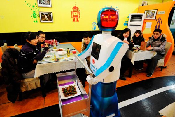 Restaurantes más originales del mundo - Haohai Robot Restaurant