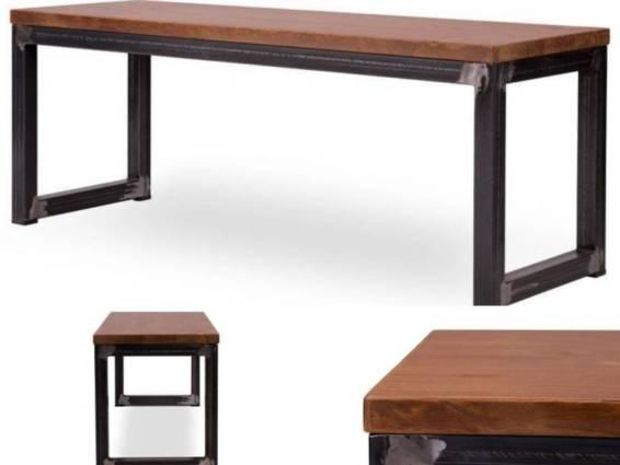 decoracion industrial y mobiliario metálico