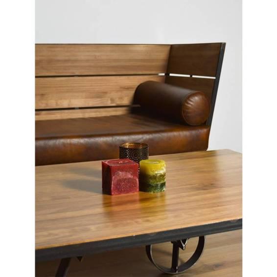 Conjunto sofá y mesa Vagón