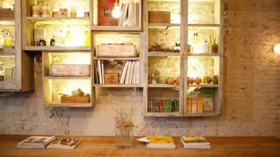 Bares y restaurantes estilo vintage