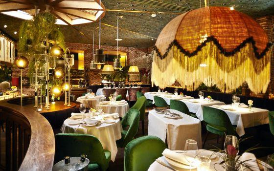 Bar restaurante vintage
