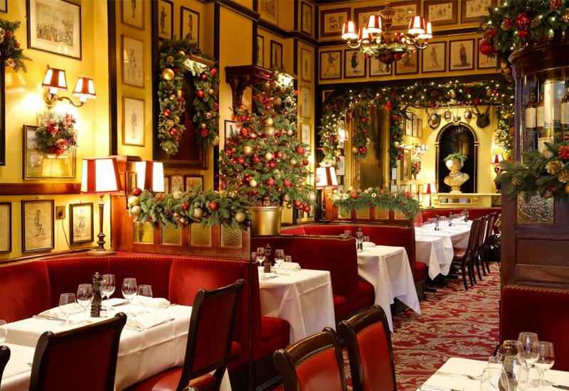 Ideas para decorar restaurantes en Navidad