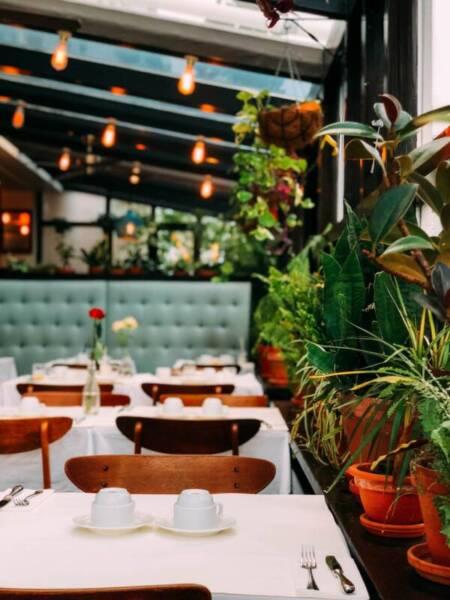 iluminacion-diseño interiores restaurante