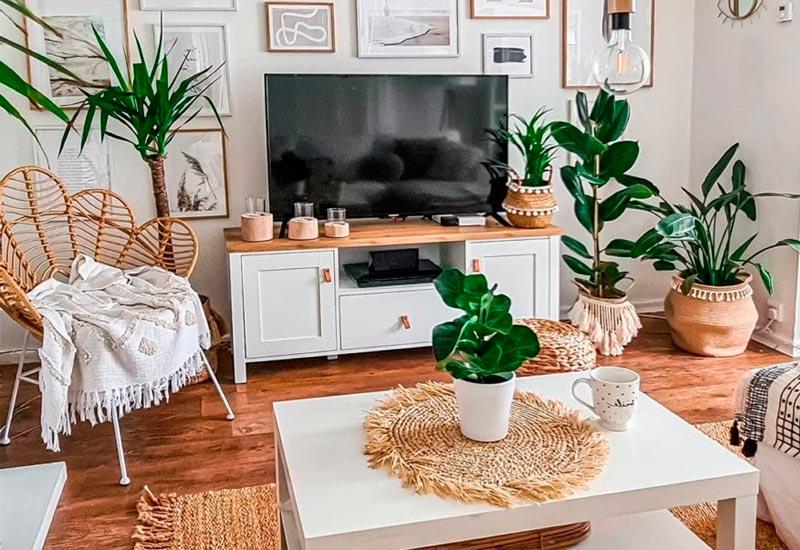 Cambia la decoración de tu salón de forma barata