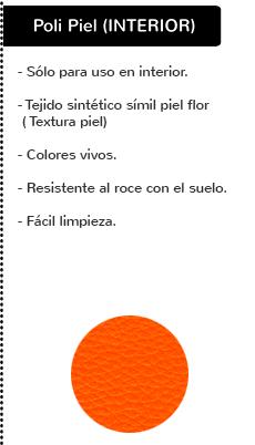 Caracteristicas  poli piel para interior